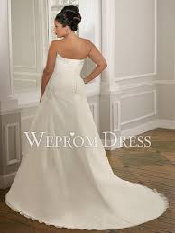 clearance plus size wedding dresses size chiffon satin sleeveless strapless a line clearance