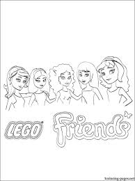 lego girl coloring page lego girl coloring pages friends printable page lego girl colouring