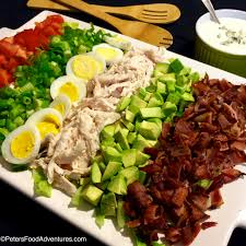 Easy Salad Recipe by Easy Cobb Salad With Bleu Cheese Recipe Peter U0027s Food Adventures