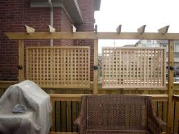 Privacy Screens Best 25 Deck Privacy Screens Ideas On Pinterest Patio Privacy