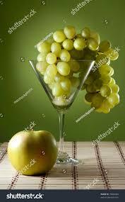 martini photography grapes martini glass apple food still stock photo 75828394