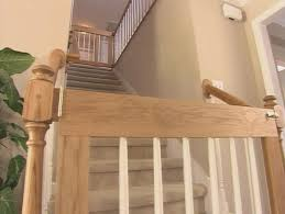 Baby Gate Stairs Banister How To Make Baby Gate Diy U0026 Crafts Handimania