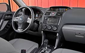 subaru tribeca 2015 interior 2014 subaru forester 2 5i limited xt first test truck trend