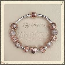 rose gold bracelet with charms images Rose gold pinteres jpg