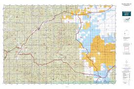 Map New Mexico by New Mexico Gmu 16d Map Mytopo