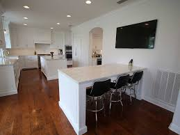Transitional White Kitchen - a transitional white kitchen with custom cabinets in san clemente