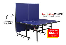 portable table tennis table singapore leading table tennis factory outlet