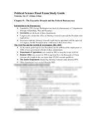 political science final exam study guide docx political science