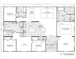 The Dakota Floor Plan by Barrington 40644b Fleetwood Homes