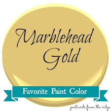 favorite paint color marblehead gold postcards from the ridge