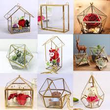 Bulk Wholesale Home Decor Wholesale Wedding U0026 Garden Geometric Vase Cheap Glass Terrarium