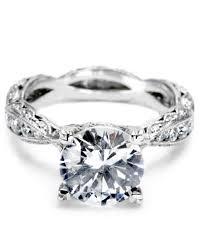 tacori crescent engagement ring tacori engagement ring martha stewart weddings