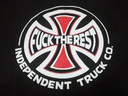 sariel pl mustang gymkhana independent trucks logo wallpaper dominantni info