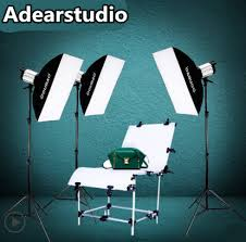 studio lighting equipment for portrait photography 750w photography studio softbox shooting table 250w flash lighting