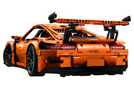 orange porsche ck modelcars 42056 lego technic porsche 911 991 gt3 rs