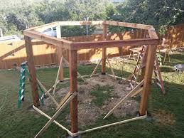 Swing Fire Pit by Firepit Swing Structure