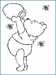 pooh coloring pages kids kids