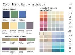 home depot paint color schemes