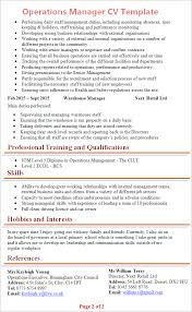 marketing cv sample retail manager cv sample uk starengineering