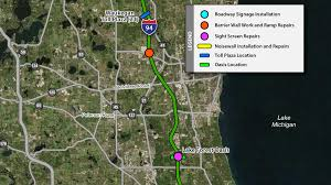 Illinois Road Construction Map by North Tri State Tollway I 94 Projects Illinois Tollway