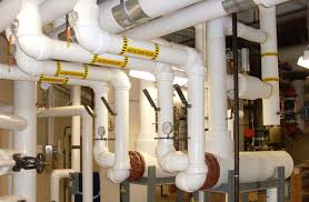cleaning and flushing of the chilled water piping system method