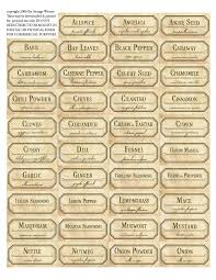 Kitchen Canister Labels Free Labels Printable The Same Free To Download And Print For