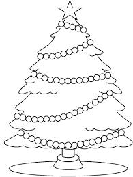 christmas tree clipart black and white clipartion com