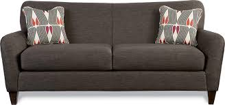 Lazboy Sofa Premier Contemporary Sofa With Tapered Wood Legs By La Z Boy