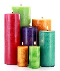 mottled pillar candles candle techniques