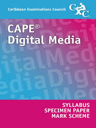 cxc cape digital media syllabus and specimen paper docshare tips