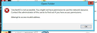 drive not accessible resolved issue local drive not accessible from jump server