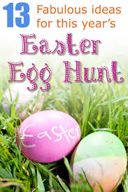 easter egg hunt ideas easter egg hunts 13 fabulous ideas crafts by amanda