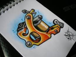 tattoo gun sketch tattoo machine flash design by frosttattoo on deviantart