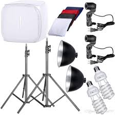 Photography Lighting Kit 2018 Photo Studio 32 Photography Light Tent Backdrop Kit Cube