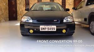 1998 honda civic modified hondaclub how to honda civic front convertion 96 98 to 99 00