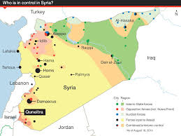 Syria Fighting Map by Un Peacekeepers Freed From Syria Rebels After Firefight Middle