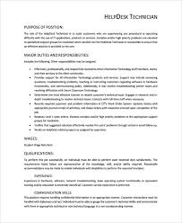 help desk technician resume help desk technician resume template 8 free documents download
