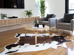 Modern Cowhide Rug Mocka Faux Cowhide Rug Living Room Decor