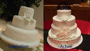 Wedding Cake Simple Bad Execution On Our Wedding Cake Simple Design Turned Into A