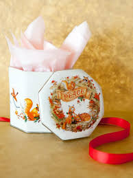 how to wrap gifts in vintage cookie tins how tos diy