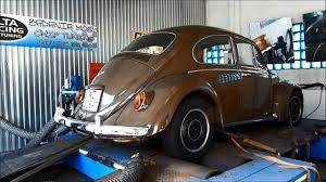 volkswagen beetle 1967 vw beetle 1967 2276 cc on dyno youtube