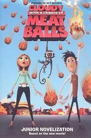 cloudy chance meatballs junior novelization stacia