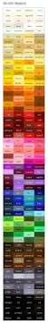 pantone chart seller best 25 paint color chart ideas on pinterest paint colour
