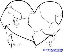 coloring pages of a heart drawings of easy hearts free download clip art free clip art