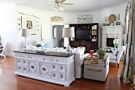 Country Decorating Blogs Farmhouse Living Room Decorating Ideas With Grey Wall Paint And