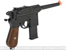 Airsoft Backyard War Broom Handle Full Metal 1 1 Scale German Wwii Mauser Airsoft