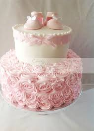 baby girl shower cake a shabby chic baby shower it s a girl girly girly and