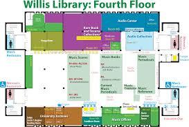 Evacuation Floor Plan Locations U0026 Maps U2014 University Of North Texas Libraries