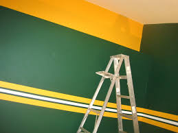 Green Colored Rooms These Are The Best Packers Color Room I Have Seen So Far