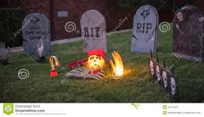 scary halloween graveyard r i p stock photos image 32272683